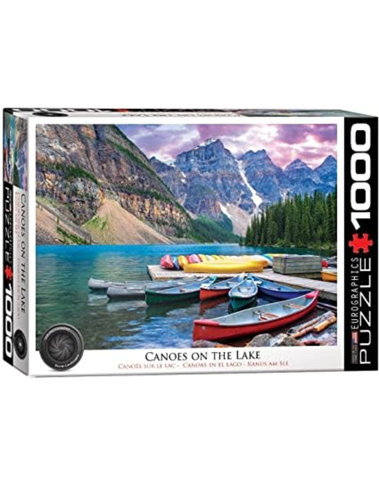 Eurographics Canoes on the Lake 1000 pc