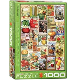 Eurographics Vegetable Seed Catalog Covers 1000pc