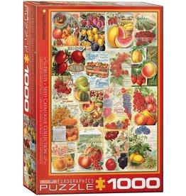 Eurographics Fruit Seed Catalog Covers 1000pc