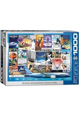 Eurographics Boeing Advertising Collection 1000 pc