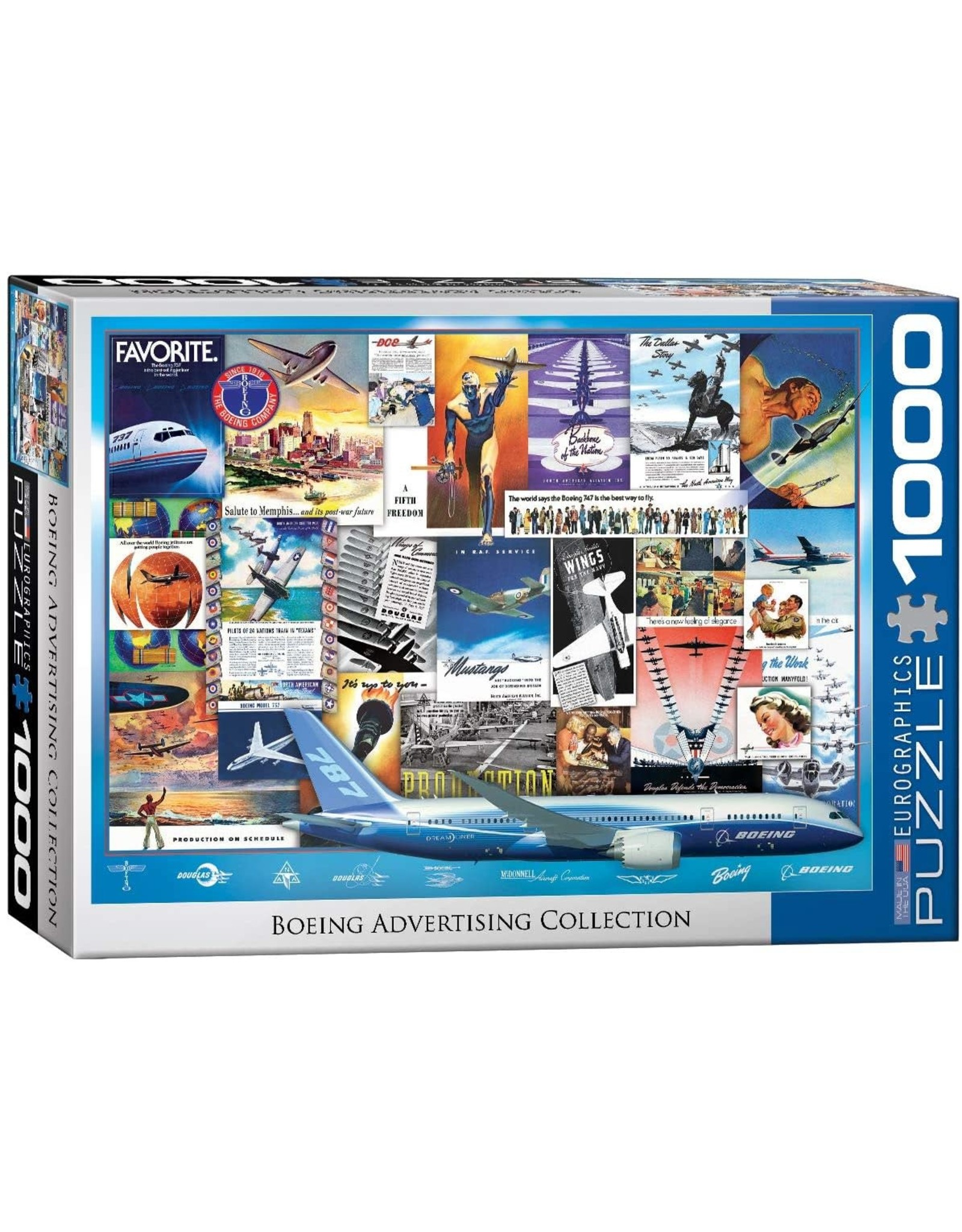 Eurographics Boeing Advertising Collection 1000pc