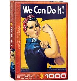 Eurographics Rosie the Riveter 1000pc