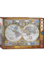 Eurographics Antique World Map 1000pc