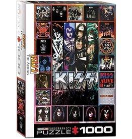 Eurographics KISS The Albums 1000pc