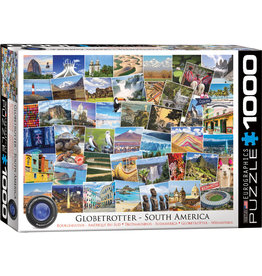 Eurographics Globetrotter South America 1000pc