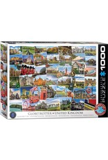 Eurographics Globetrotter United Kingdom 1000pc