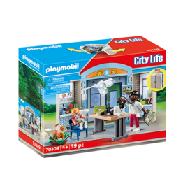 Playmobil Vet Clinic Play Box