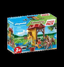 Playmobil Starter Pack Horse Farm
