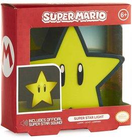 Paladone Super Mario Super Star Light with Sound