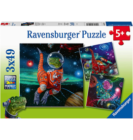 Ravensburger Dinosaurs in Space 3x49 pc