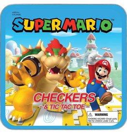 USAopoly Super Mario Checkers & Tic Tac Toe