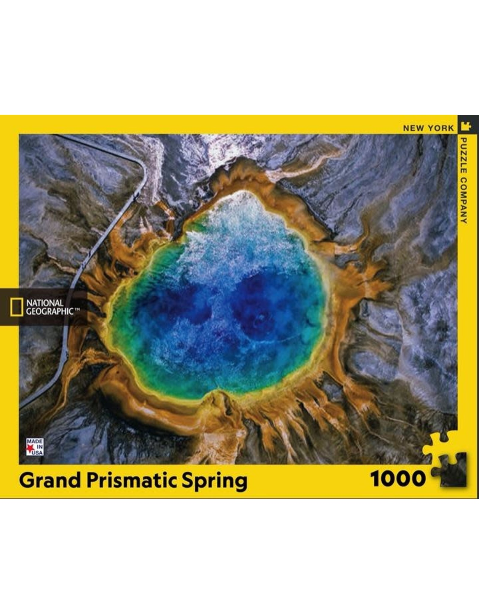 New York Puzzle Co. Grand Prismatic Spring 1000pc