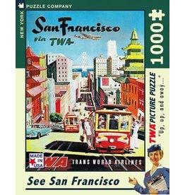 New York Puzzle Co. San Francisco 1000 pc