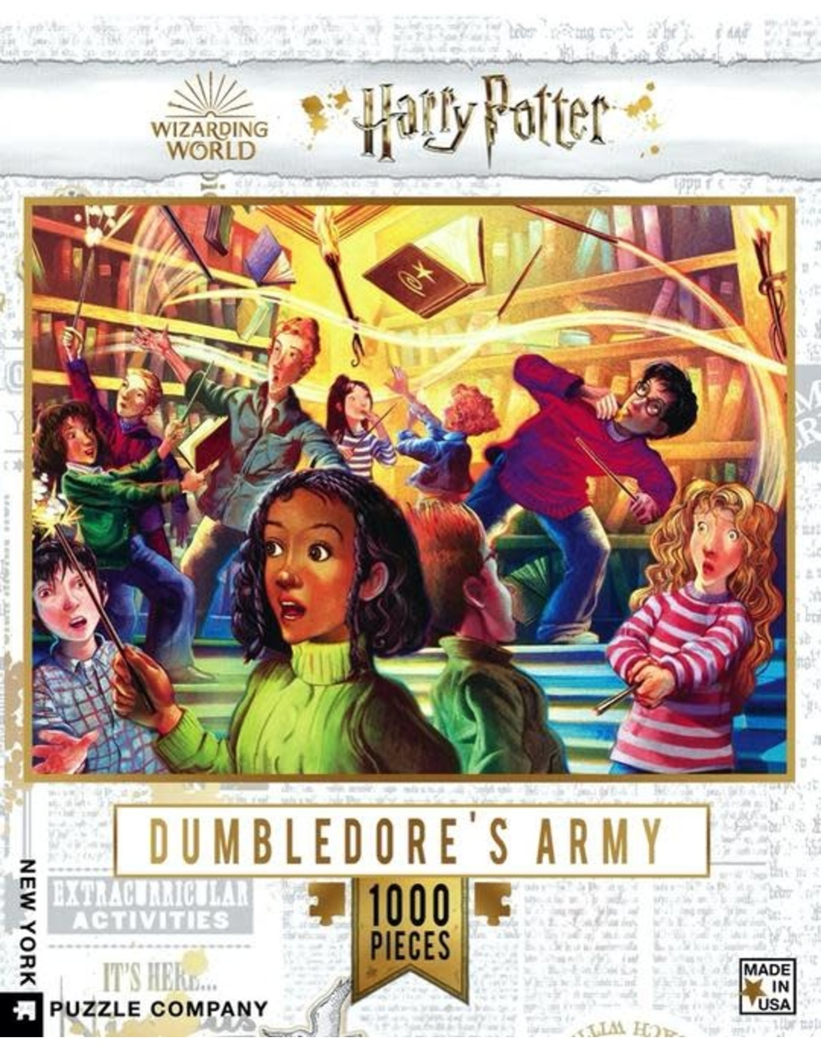 New York Puzzle Co. Dumbledore's Army 1000pc