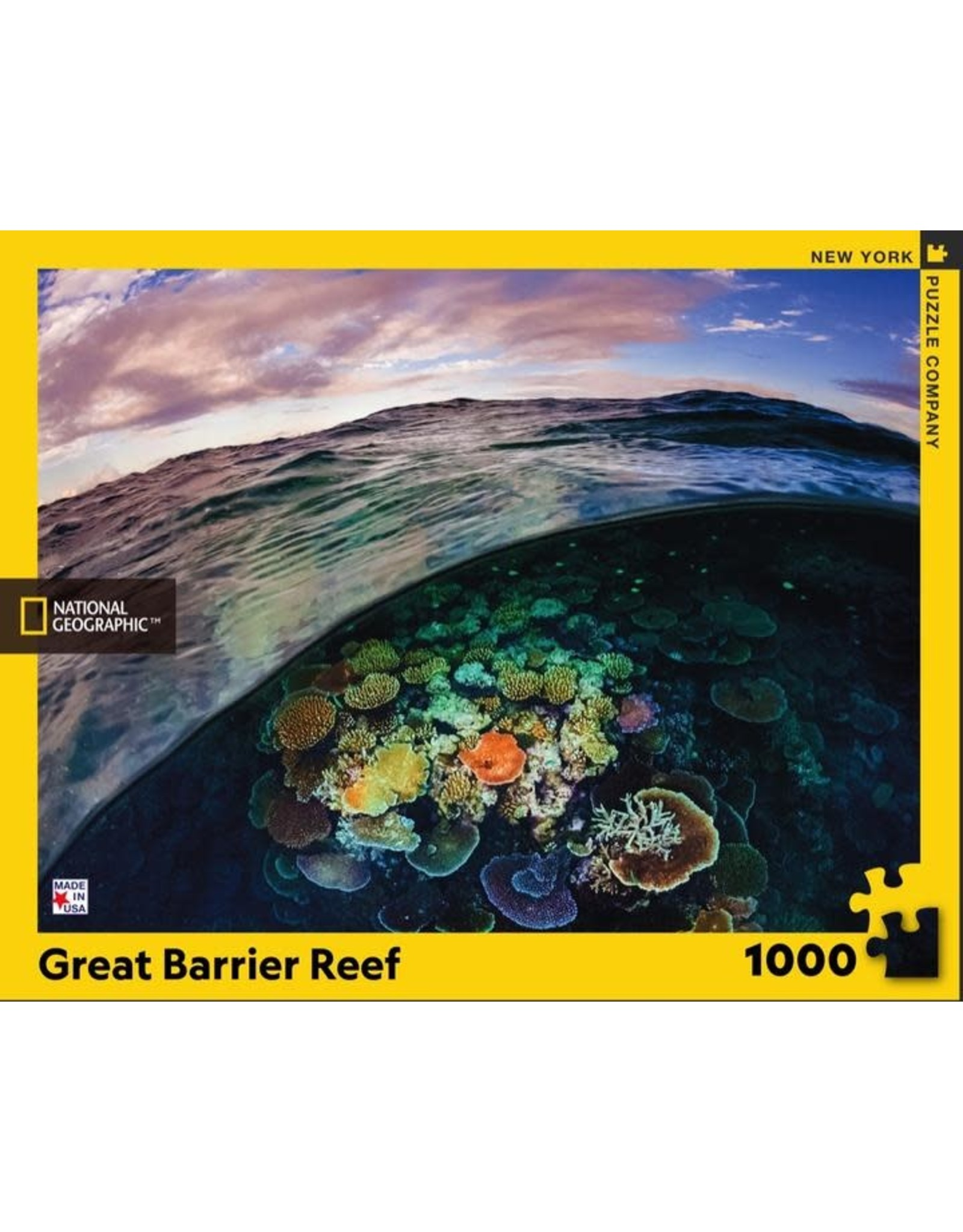 New York Puzzle Co. Great Barrier Reef 1000pc
