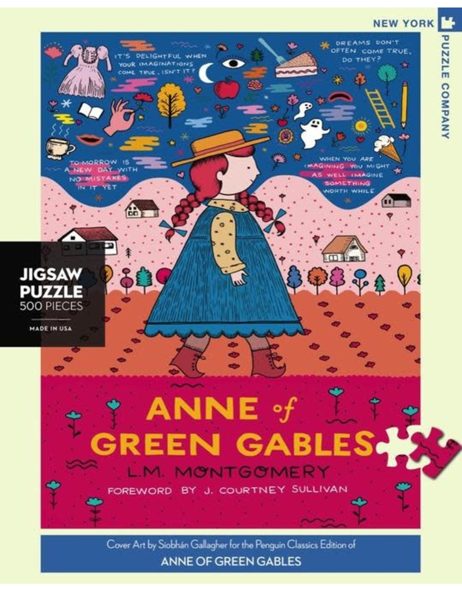 New York Puzzle Co. Anne of Green Gables 500 pc