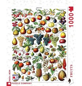 New York Puzzle Co. Fruits 1000 pc
