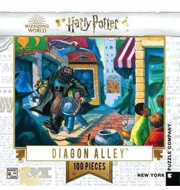 New York Puzzle Co. Diagon Alley Mini 100pc