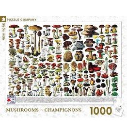 New York Puzzle Co. Mushrooms - Champignons 1000pc