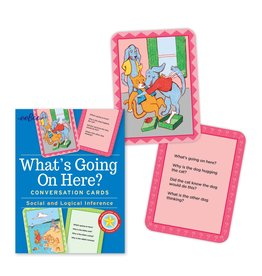 eeBoo What's Going On Here? Conversation Flash Cards