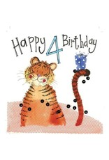 Alex Clark Art 4 Year Old Tiger Card