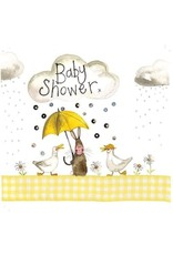 Alex Clark Art Baby Shower Card