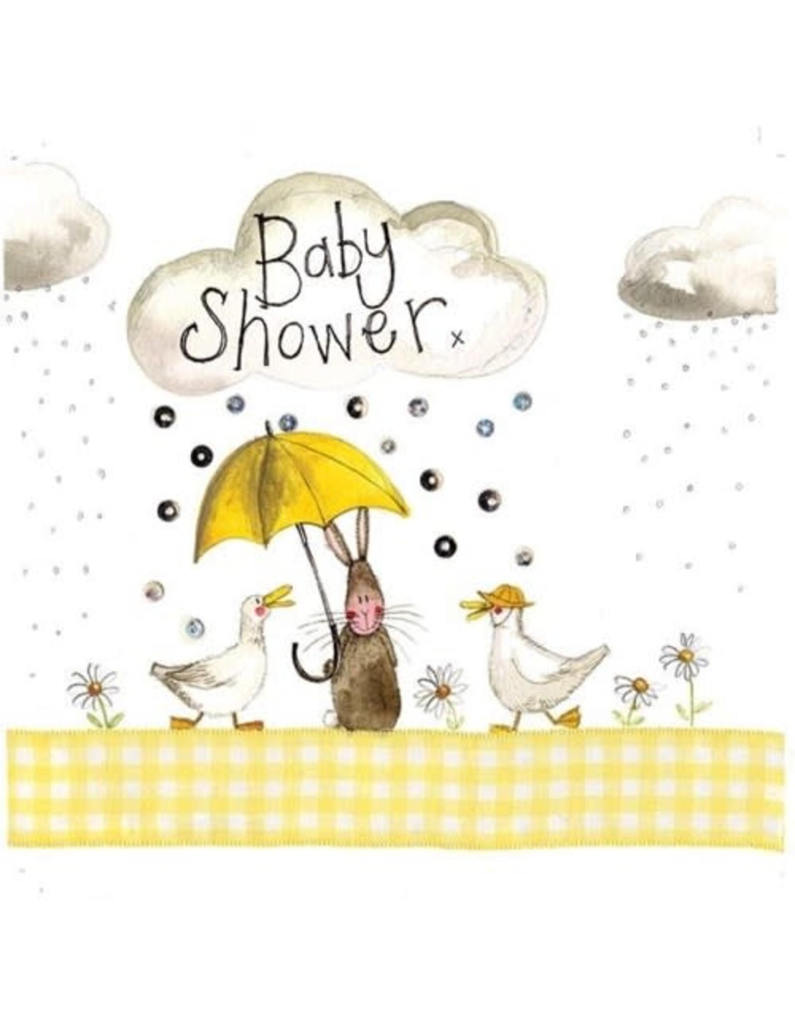 Alex Clark Art Baby Shower Card