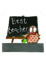 Alex Clark Art Best Teacher Card