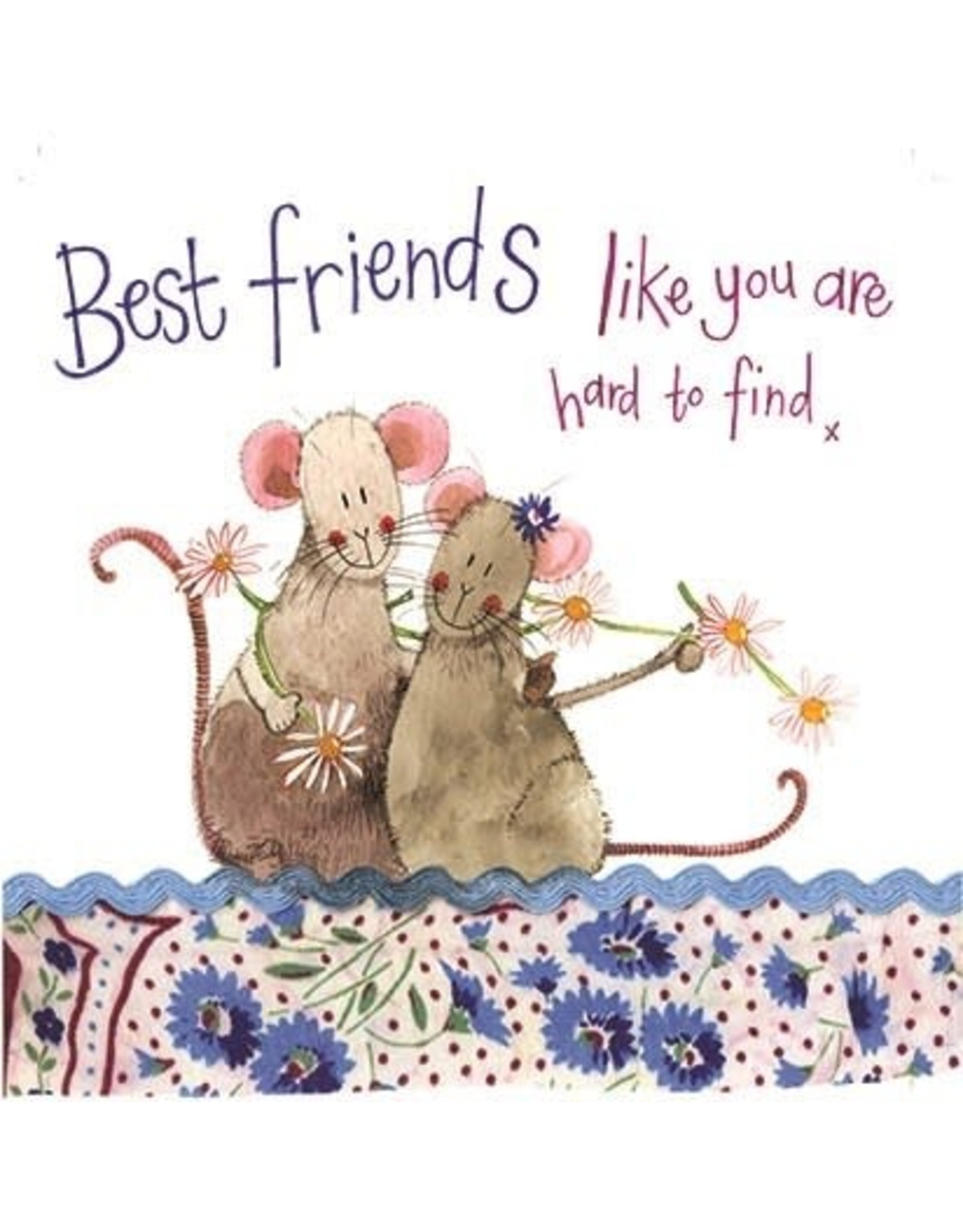 Alex Clark Art Best Friends Birthday Card