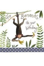 Alex Clark Art Bananas Birthday Card