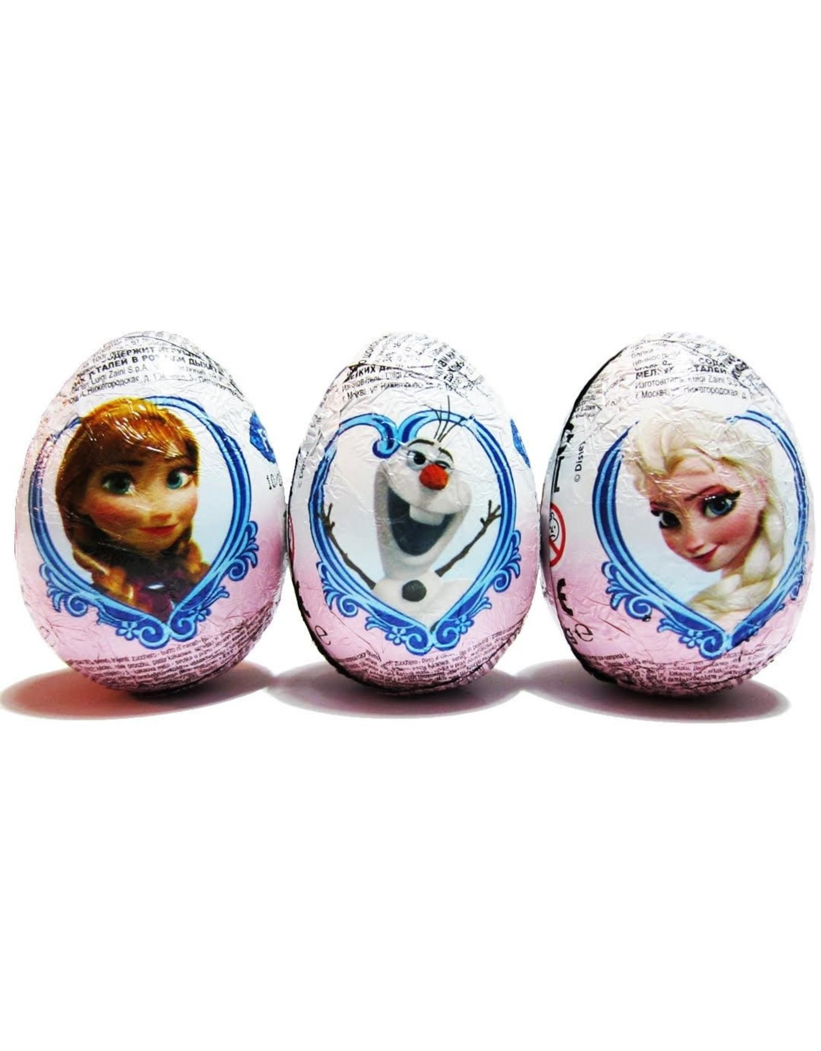 Zaini Chocolate Egg - Disney Frozen