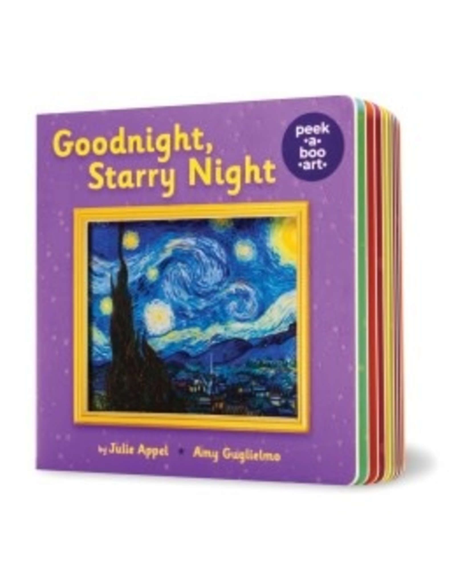 Scholastic Goodnight, Starry Night (Peek-a-Boo Art)