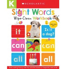 Scholastic Sight Words: Scholastic Early Learners (Wipe-Clean Workbook)
