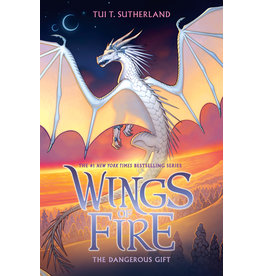 Scholastic The Dangerous Gift (Wings of Fire, Book 14) Signed Edition