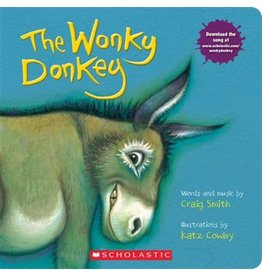 Scholastic The Wonky Donkey: A Board Book
