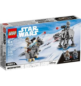 Lego AT-AT vs. Tauntaun Microfighters