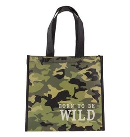 Stephen Joseph Small Recycled Gift Bag - Born to Be Wild Camo
