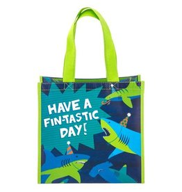 Stephen Joseph Small Recycled Gift Bag - Shark