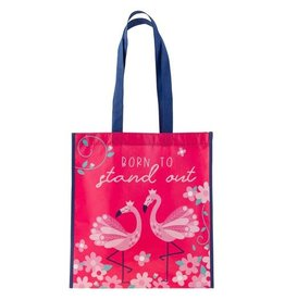 Stephen Joseph Large Recycled Gift Bag - Flamingo