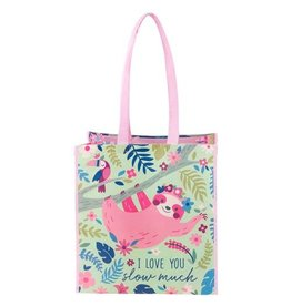 Stephen Joseph Large Recycled Gift Bag - Sloth
