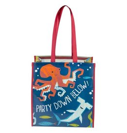 Stephen Joseph Large Recycled Gift Bag - Shark