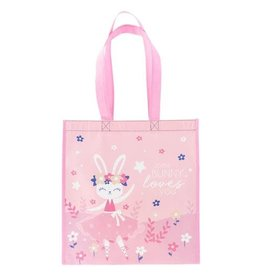 Stephen Joseph Large Recycled Gift Bag - Bunny