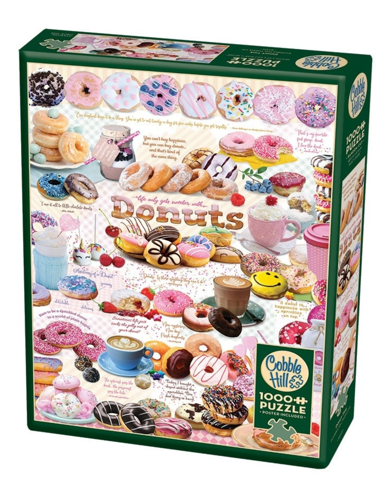 Cobble Hill Donut Time 1000 pc
