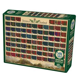 Cobble Hill Tartans of Scotland 1000pc