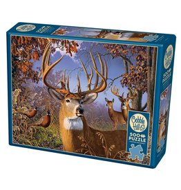 Cobble Hill Deer and Pheasant 500 pc