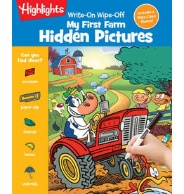 Highlights Highlights Write-On Wipe-Off My First Farm Hidden Pictures