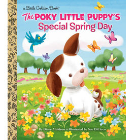 Little Golden Books The Poky Little Puppy's Special Spring Day - LGB