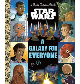 Little Golden Books A Galaxy for Everyone - LGB