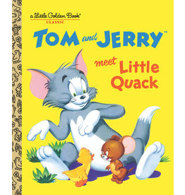 Little Golden Books Tom and Jerry Meet Little Quack - LGB