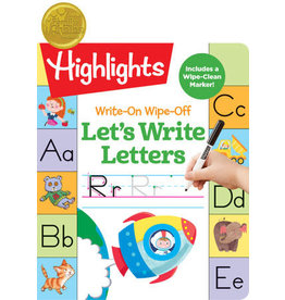 Highlights Highlights Write-On Wipe-Off Let's Write Letters
